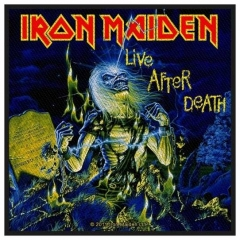 Aufnäher Iron Maiden Live After Death