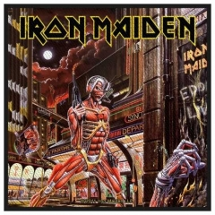 Aufnäher Iron Maiden Somewhere In Time