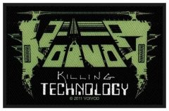 Aufnäher Voivod Killing Technology