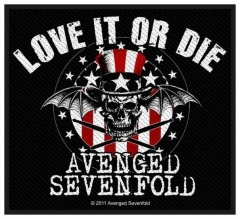 Aufnäher Avenged Sevenfold Love It Or Di