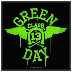 Aufnäher Green Day Neon Wings