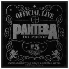 Aufnäher Pantera 101% Proof