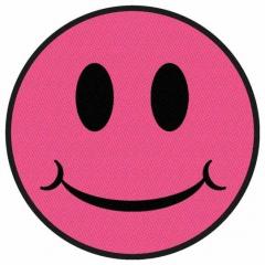 Aufnäher Smiley