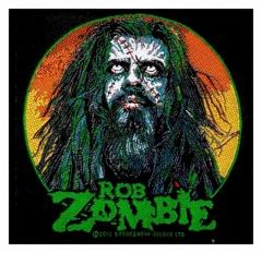 Aufnäher Rob Zombie Zombie Face