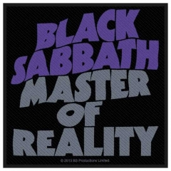 Aufnäher Black Sabbath Master Of Reality