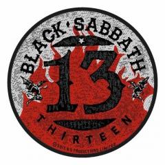 Aufnäher Black Sabbath 13 Flames Circular