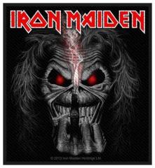 Aufnäher Iron Maiden Eddie Candle Finger