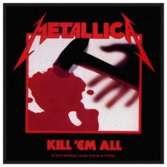 Aufnäher Metallica Kill Em All