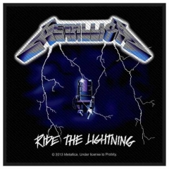 Aufnäher Metallica Ride The Lightning