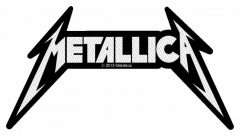 Aufnäher Metallica Shaped Logo