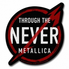 Aufnäher Metallica Through The Never