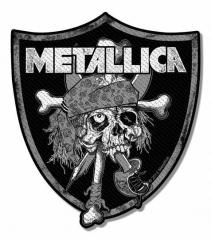Aufnäher Metallica Raiders Skull