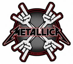 Aufnäher Metallica Metal Horns