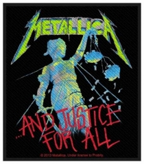 Aufnäher Metallica And Justice For All