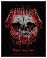 Aufnäher Metallica Wherever I may Roam