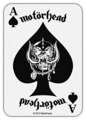 Aufnäher Motörhead Ace of Spades Card