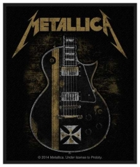 Aufnäher Metallica Hetfield Guitar