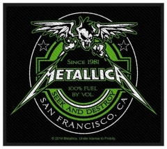 Aufnäher Metallica Beer Label