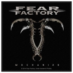 Aufnäher Fear Factory Mechanize