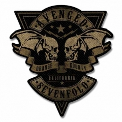 Aufnäher Avenged Sevenfold Orange County Cut Out
