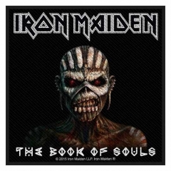 Aufnäher Iron Maiden The Book of Souls