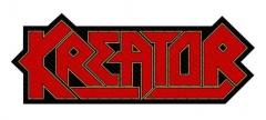 Aufnäher Kreator Logo Cut-Out