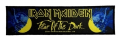 Iron Maiden Fear Of The Dark Superstrip Patch