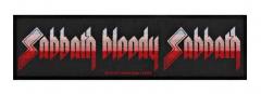 Black Sabbath Sabbath Bloody Sabba Superstrip Aufnäher
