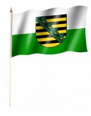 Sachsen Stockfahnen