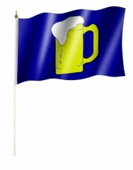 Beer Hand Flag