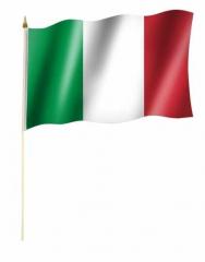 Italien Stockfahnen