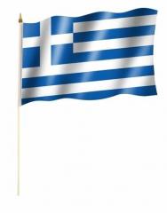 Griechenland Stockfahnen