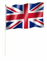 Großbritannien Stockfahnen