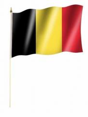 Belgien Stockfahnen
