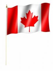 Kanada Stockfahnen