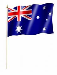 Australien Stockfahnen