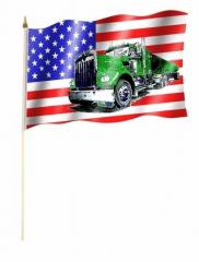 USA Truck - Stockfahne