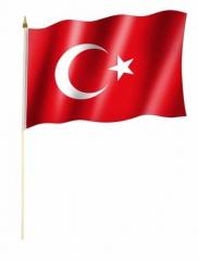 Türkei Stockfahnen