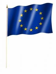 Europa Stockfahnen