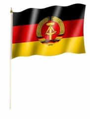 DDR Stockfahnen