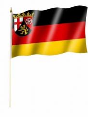 Rheinland Pfalz Stockfahnen