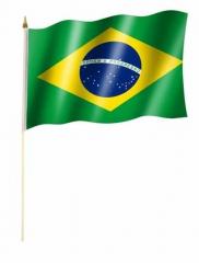 Brasilien Stockfahnen