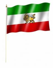 Alt Iran - Stockfahne