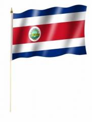 Costa Rica Stockfahnen