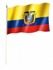 Ecuador Stockfahnen