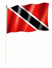 Trinidad & Tobago - Stockfahne