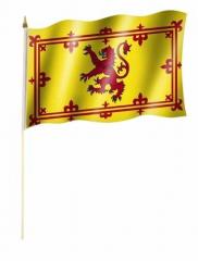 Schottland Stockfahnen