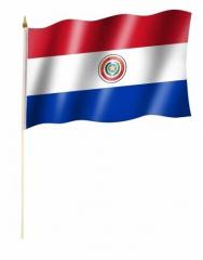 Paraguay Stockfahnen