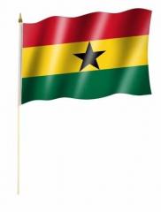 Ghana Stockfahnen
