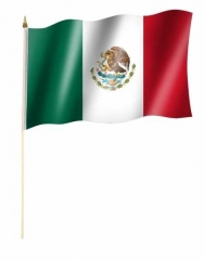 Mexiko Stockfahnen